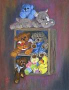 Toys Pastels - Stuffed by Jo Castillo
