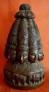 Traditional Sculpture Originals - Stupa by Yogesh Agrawal