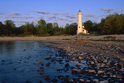 Inland Photos - Sturgeon Point Lighthouse - FS000119 by Daniel Dempster