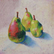Pears Pastels Framed Prints - Style Framed Print by Michael King