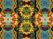 Subconscious Sacred Scrolls Print by Zeana Romanovna