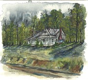 Old School House Paintings - Suber Home by Patrick Grills