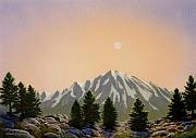 Pacific Crest Trail Paintings - Sublime Sierra Light by Frank Wilson