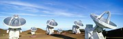 Hawai Prints - Submillimeter Array Telescopes, Hawaii Print by David Nunuk