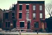 Brick Buildings Art - Substandard Housing In Brooklyn New by Everett