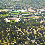 Palo Alto Prints - Suburban Sports Stadium Print by Eddy Joaquim