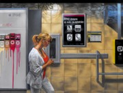 Drawing Painting Originals - Subway Platform by Glenn Bernabe