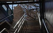 Subway Stairs Print by Rob Hans
