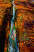 Zion National Park Photos - Subways Fault by Chad Dutson