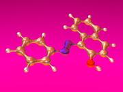 Sudan 1 Molecule Print by Dr Mark J. Winter