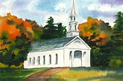 Lynn Babineau - Sudbury Chapel in Fall II