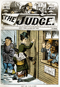 Poll Prints - Suffrage Cartoon, 1884 Print by Granger