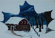 Quebec Mixed Media - Sugar Bush 1 by Josie De Meo