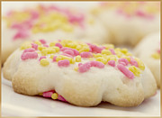 Sprinkles Framed Prints - Sugar Cookies Framed Print by Juli Scalzi