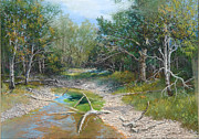 Oregon State Pastels - Sugar Creek by Jack Hetterich