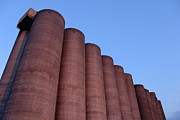 Conformity Photos - Sugar factory silo at dusk by Sami Sarkis