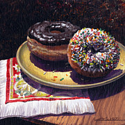 Lynette Cook Paintings - Sugar Fix by Lynette Cook