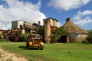 Koloa Framed Prints - Sugar Mill and Truck Framed Print by Roger Mullenhour