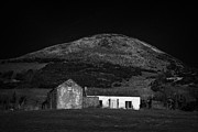Old Stone House Photos - Sugarloaf Hill Sturgan Brae South Armagh Northern Ireland by Joe Fox