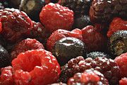 Raspberry Photo Originals - Sugary Berries 2 by Bill Owen