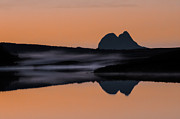 Shining Down Framed Prints - Suilven  Framed Print by Derek Beattie
