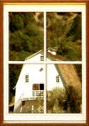 Barn Windows Posters - Suitably Farmed Poster by Cristopher