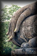 Hand Digital Art - Sukhothai Buddha by Adrian Evans