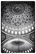 Fine Photography Art Photos - Suleymaniye Ceiling by John Rizzuto