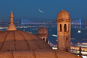 Illuminated Art - Suleymaniye by Salvator Barki
