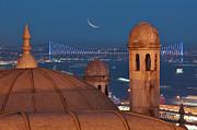 Suleymaniye Print by Salvator Barki