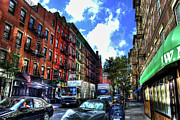 Nyc Fire Escapes Photos - Sullivan Street in Greenwich Village by Randy Aveille
