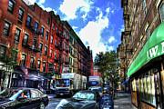 Sullivan Street In Greenwich Village Print by Randy Aveille