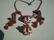 Jewellery Jewelry Originals - Sultan Lampwork Necklace by Ozlem Ercan