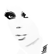 Mistikkal Original Art Digital Art - Sultry by Rosy Hall