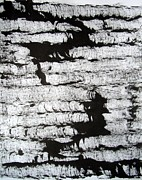 E Black Drawings Prints - Sumi-e 120726-5 Print by Aquira Kusume