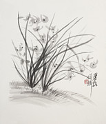 Ornately Art - Sumi_E Three by Greg Kopriva