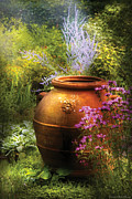 Funeral Prints - Summer - Landscape - The Urn Print by Mike Savad