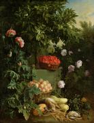 Vegetable Paintings - Summer by Alexandre-Francois Desportes