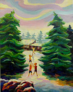Enjoying Originals - Summer at the Cottage by Naomi Gerrard