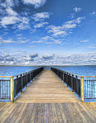 Pier Prints - Summer Bliss Print by Tammy Wetzel