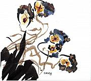 Sumi Prints - Summer Print by Casey Shannon