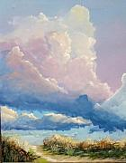Cloudscapes Posters - Summer Clouds Poster by John Wise