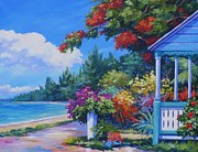 Trinidad Paintings - Summer Colours 20x16 by John Clark