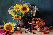 Basket Photos - Summer Exuberance by Panga Natalie Ukraine