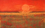 Field. Cloud Paintings - Summer Field Ii by Geegee W