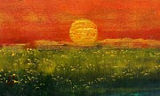 Sunshine Paintings - Summer Field Iii by Geegee W