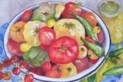 Sandy Collier Metal Prints - Summer Harvest Metal Print by Sandy Collier