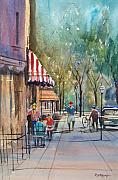 Ryan Radke Framed Prints - Summer in Cedarburg Framed Print by Ryan Radke