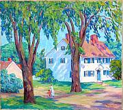 Nan Sheets - Summer in Gloucester MA