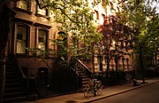 Greenwich Metal Prints - Summer in New York City - Greenwich Village Metal Print by Vivienne Gucwa